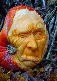 old man pumpkin