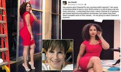 Jan Shedd body shaming accomplished nothing besides showing that women still have a ways to go in supporting one another. The Daily Mail Newspaper, Body Shaming, Latest Breaking News, Loving Your Body, Slammed, Viral Videos, Celebrity Photos, Anchor, Curvy