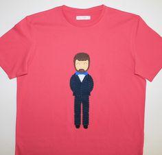 cocodrilova: camiseta novio boda personalizada  #camisetaboda #vivanlosnovios #boda #bodas2017 #hechoamano   camiseta-novio-boda-personalizada
