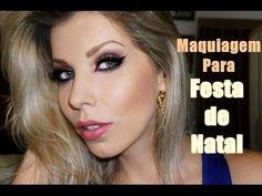 Maquiagem para Festas de Natal, com Lu Ferraes - YouTube