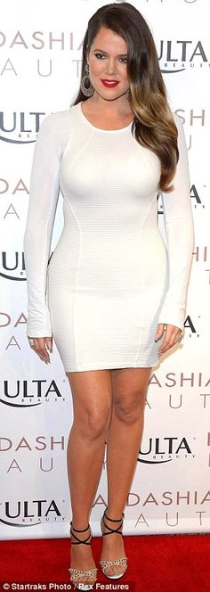 Khloe Kardashian Odom's curves. Love them! This is the body I am aiming for