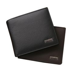 2016 Fashion Men Wallets Bifold Wallet Leather Credit ID Card Holder Billfold Purse Mini Wallet carteras mujer sacoche homme#25