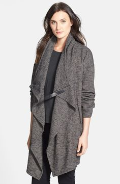 STRIPED BLANKET SWEATER COAT - JAMES PERSE | currently coveting
