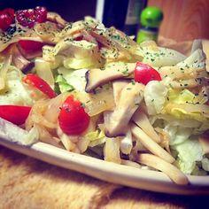 エリンギと玉ねぎのディッシュサラダ  #エリンギ#キノコ#茸#fungi#玉ねぎ#onion#cipolla#サラダ#salad#insalata - 1件のもぐもぐ - エリンギと玉ねぎのディッシュサラダ by Tricky1Ricky