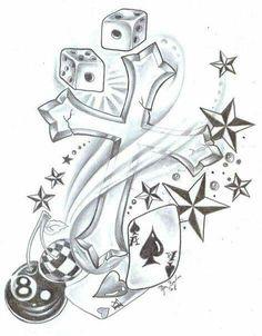 Cross dice stars