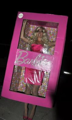 @  Barbie costume - Please let my sister or sister-in-law do this for Halloween!