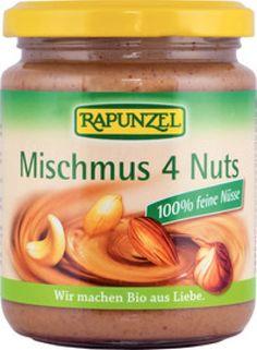 Rapunzel Mischmus 4 Nuts, 250g