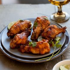 Honeyed Sriracha Chicken Wings « Go Bold with Butter