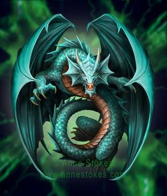 Age of Dragons: By Anne Stokes by Chinqwe