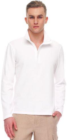 500e5ed70 Half Zip Knit Sweater - Lyst Michael Kors Men