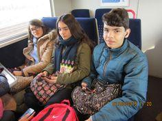 En el tren 6