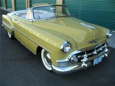 CHEVROLET BEL AIR CONVERTIBLE 1953