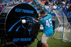 Former Panthers RB Brad Hoover Panthers Football Team, Carolina Panthers Football, Football Love, Panther Nation, Drumline, First Down, North Carolina, Seasons, Drummers