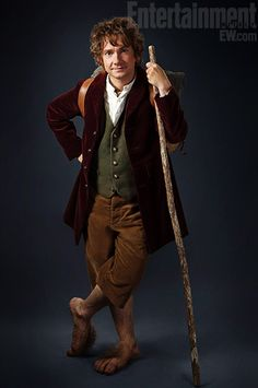 Martin Freeman as Bilbo Baggins. I LOVE him in Sherlock, I'm sure he will do an absolutely fantastic job as Bilbo