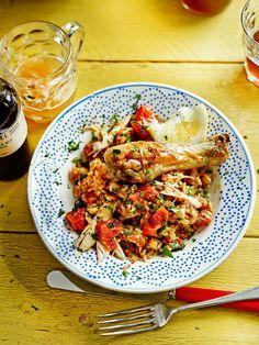 ghana jollof rice, Jamie Oliver's recipe