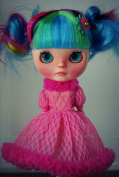 A Doll A Day. Mar 22. Up In Flames. | Flickr - Photo Sharing!