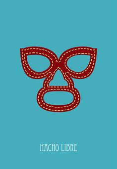 nacho libre movie poster postcard 4'X6' by LiveitupS2 on Etsy, $1.50