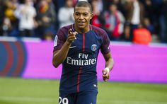 Télécharger fonds d'écran Le PSG, Kylian Mbappe, de match, le football, les stars du football, Ligue 1, le Paris Saint-Germain, Mbappe, les footballeurs