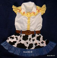 Reservado para cristygonzalez1420 Jessie había inspirado vestido. Toy Story. Vaquera cumpleaños partido Halloween traje