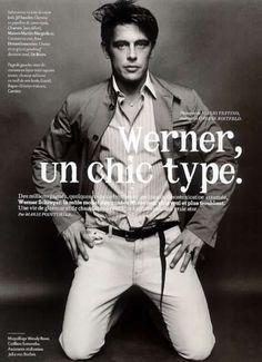 Werner Schreyer - by Mario Testino