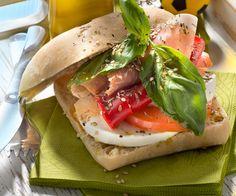 Sandwich au jambon et au parmesan - Gourmand