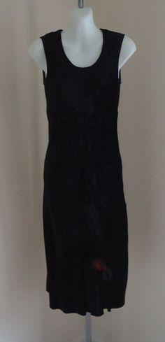 Available @ TrendTrunk.com Helmut Lang Black Velvet Dress. By Helmut Lang . Only $53!