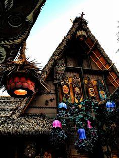 Tiki Room Photograph, Enchanted Tiki Room, Disneyland, tiki art, tropical decor, fine art photoraphy print