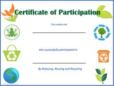 Eco-Kids Earth Day Certificates and Awards. Reward kids for Earth Day activities with certificates for participation and achievements at school and home. Earth Day Activities, Printable Activities For Kids, Class Activities, Worksheets For Kids, Earth Day Information, Earth Day Tips, Earth Day Pictures, Earth Day Coloring Pages, Sustainable Schools