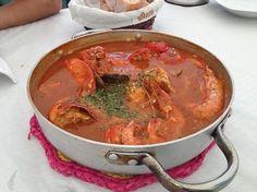 Arroz caldoso con bogavante www.eligetuplato.es