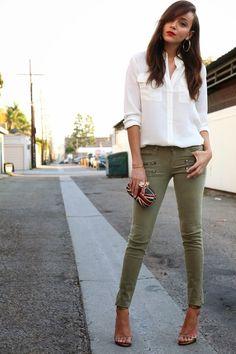 halpa sävyt aitoja kenkiä naisten vihreät housut
