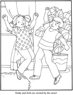 Our New Baby Coloring Book, Dover Publications. Page 2/6