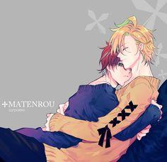 Aww these two are so cute together! Cute Anime Guys, Anime Love, Sad Anime, Anime Manga, Anime Friendship, Otaku, Boy Illustration, Cute Anime Character, Anime Couples Manga