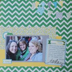 Today Layout by Andrea Ancich via Jillibean Soup Blog