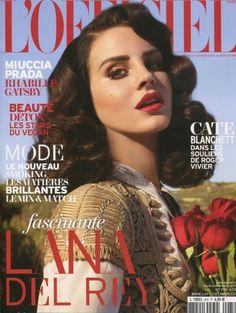 WHITE bIRD dans la presse - L'OFFICIEL (Lana del Rey)