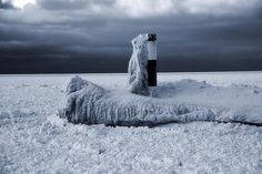 Title  The Polar Vortex Freezes The Great Lakes   Artist  Dan Sproul   Medium  Photograph - Digital