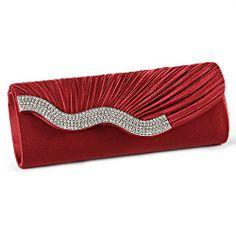 Anladia Satin Wavy Crystal Bag Evening Prom Bridal Wedding Purse Clutch Handbag (Wine-Red) Anladia,http://www.amazon.com/dp/B00FRBB150/ref=cm_sw_r_pi_dp_0Fqptb05TVSS8VNE