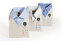Standard Dress Shirt by Jille Natalino #packaging #display