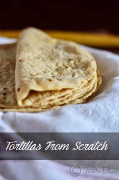 Whole wheat tortillas from the scratch- DIY