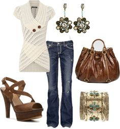 Casually Chic, created by tammietoo2 on Polyvore