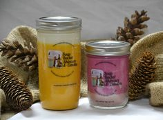Harvest Season Special: 2 pack $32.40 Fall is upon us! Why not enjoy the beautiful landscapes with a candle 2-pack. We've got a small 20oz. Pumpkin Cheesecake and a 13.5 oz Hot Apple Pie scented organic soy candle. http://www.soapbucketskincare.com/products.php?product=Harvest-Season-2%252dPack