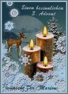 Advent GB Pics - - Candles & More - Weihnachten Unique Candles, Diy Candles, Pillar Candles, Christmas Time, Merry Christmas, Advent Candles, Christmas Decorations, Christmas Ornaments, Holiday Wishes