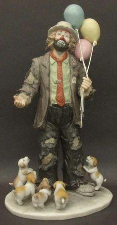 emmett kelly clown figurines collectible | Flambro EMMETT KELLY JR FIGURINE My Favorite Things