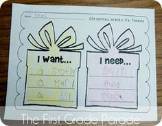 The First Grade Parade: The Holidays In Rewind. (Great character ed activity close to christmas)