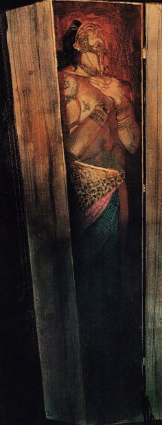 Queequeg in His Coffin — Bill Sienkiewicz