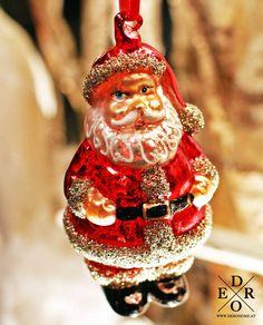 "Dekorativer und edler Weihnachtsmann Christbaumschmuck ""Santa"" Christen, Christmas Ornaments, Holiday Decor, Papa Noel, Christmas Tree Decorations, Decorating, Xmas, Xmas Ornaments, Christmas Jewelry"