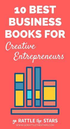 10 Best Business Books for Creative Entrepreneurs | Must Read | Creative Business Books | Books for Bloggers