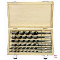 Pit Bull CHIAU0600 9-Inch Auger Drill Bit Set, 6-Piece