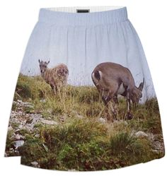 Alpine Chamois II summer skirt by Amazon Queens. $75 from http://printallover.me/collections/amazon-queens