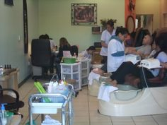 Very relaxing nail salon ! This is very important. ***Very reasonable*** #relaxing, #reasonable, #nail, #salon