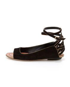 Derek Lam Hanne Strappy Peep-Toe Sandal
